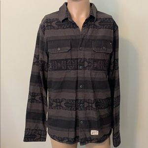 "Vans ""Off the Wall"" men's long sleeve top sz L"